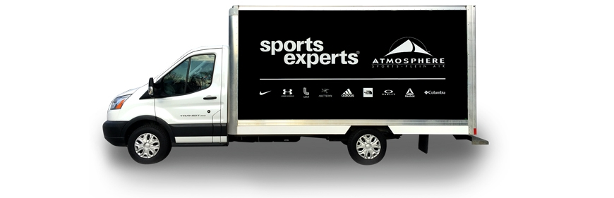 Véhicules-Camions-SPORTS-EXPERTS